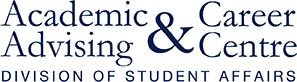 UTSC Academic Advising and Career Centre logo